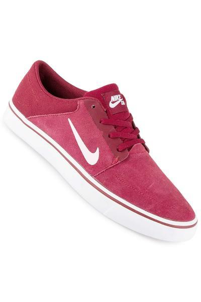 Nike SB Portmore Schuh (team red white)