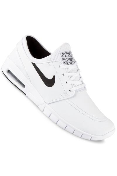 Nike SB Stefan Janoski Max Suede Shoe (white black)