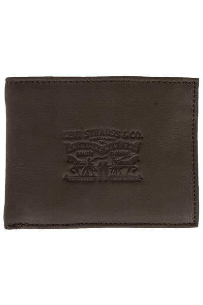 Levi's Vintage Two Horse Bifold Portefeuille (dark brown)