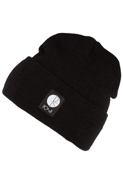 Polar Skateboards Fill Logo Beanie (black)