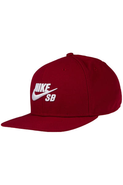 Nike SB Icon Snapback Cap (team red black white)