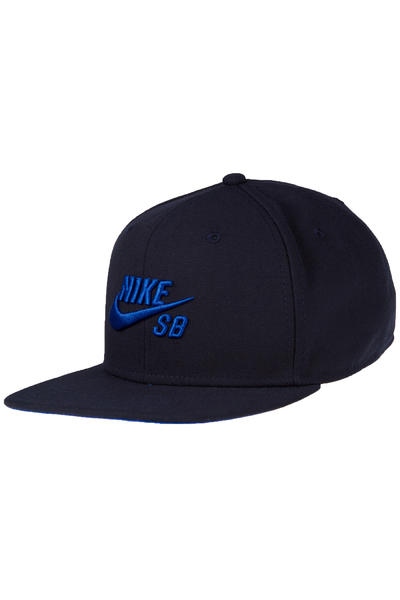 Nike SB Icon Snapback Cap (dark obsidian game royal)