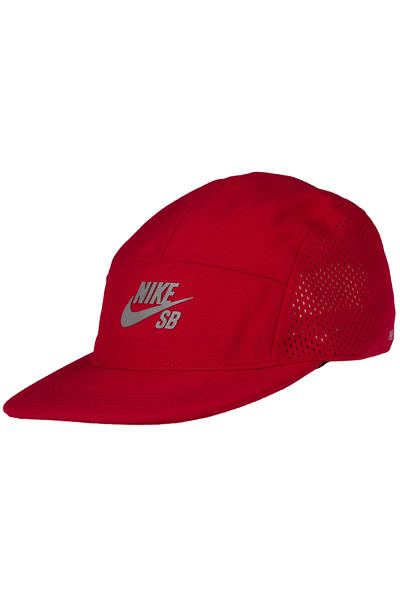 Nike SB Performance 5 Panel Cap (gym red black)