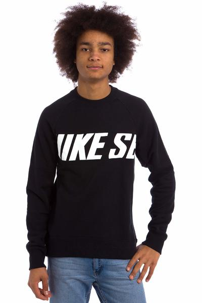 Nike SB Everett Motion Sweatshirt (black white)