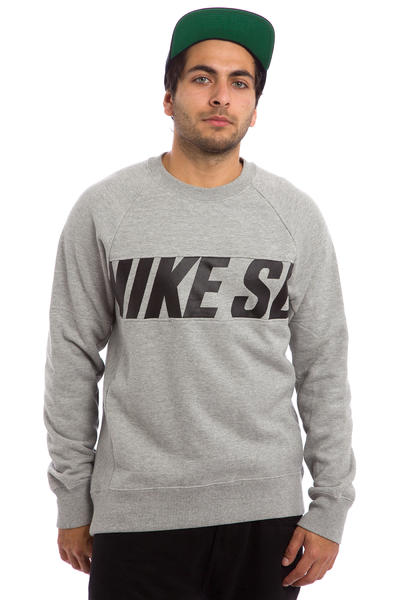 Nike SB Everett Motion Sweatshirt (dark grey heather black)