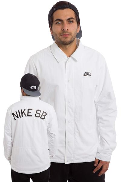 Nike SB Coaches Jacke (white black)
