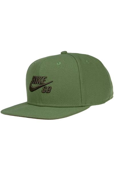 Nike SB Icon Snapback Cap (treeline cargo khaki)
