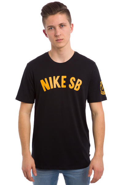 Nike SB Spring Training T-Shirt (black gold leaf)