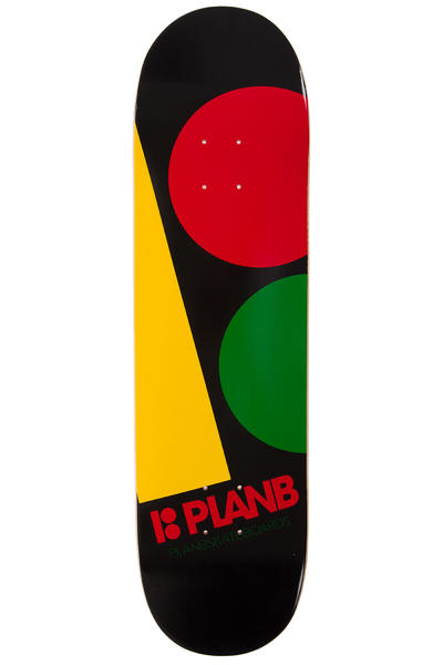"Plan B Team Massive 8.375"" Deck (black rasta)"