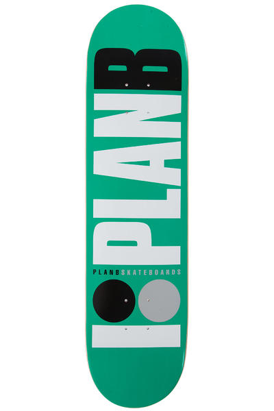 "Plan B Team OG 7.75"" Deck (green)"