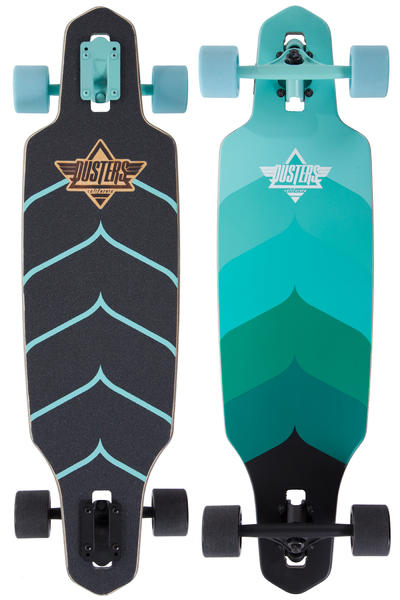 "Dusters Wake 34"" (86,4cm) Komplett-Longboard (turquoise)"