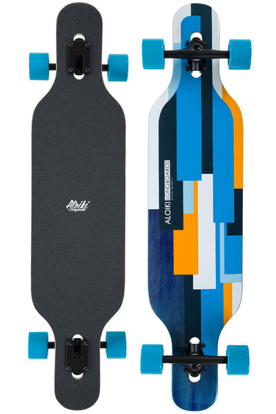 "Aloiki Yakarta 40"" (101,6cm) Complete-Longboard (blue)"