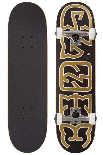 "Globe Heyman Mid 7.6"" Complete-Board (black gold)"