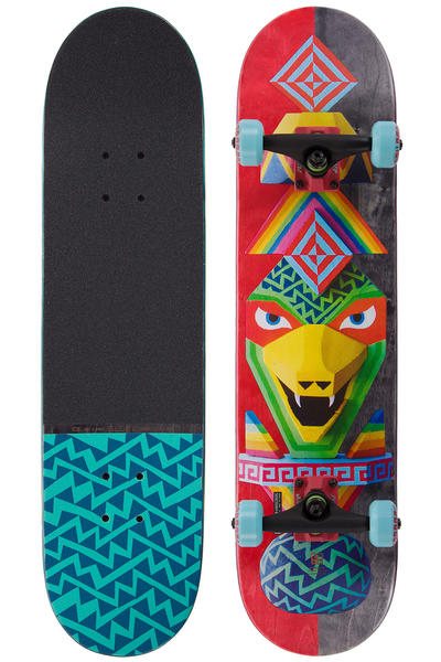 "Globe Totems 7.75"" Complete-Board (rainbow serpent)"