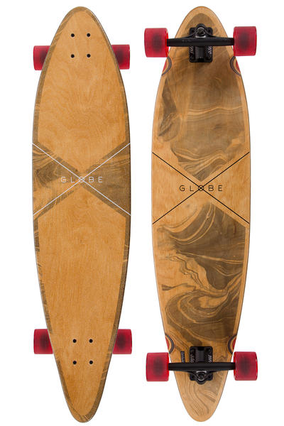 "Globe Pinner 41.25"" (105cm) Complete-Longboard (marbled black)"