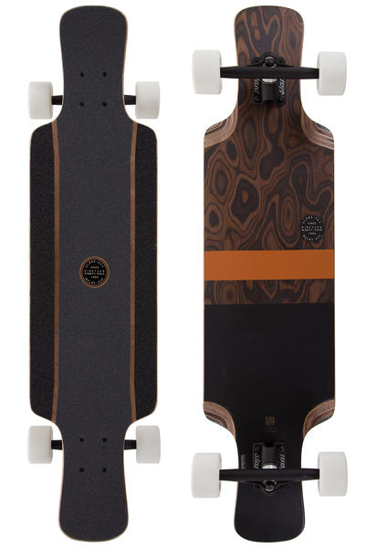 "Globe Geminon Kick 37,5"" (95,25cm) Komplett-Longboard (burle black)"