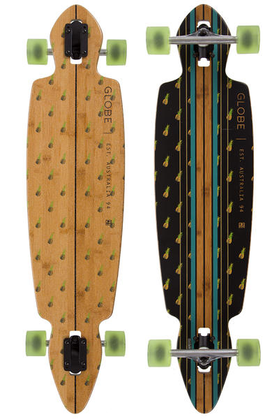 "Globe Pinner Drop-Through 41"" (104,5cm) Longboard-completo (bamboo pineapple)"