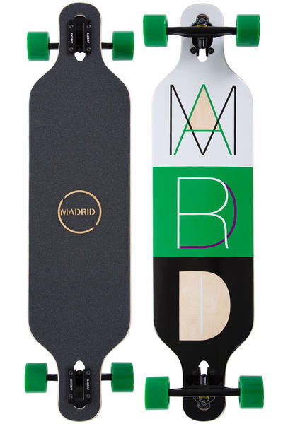 "Madrid Trance DT 39"" (99,5cm) Complete-Longboard (cutout 2)"
