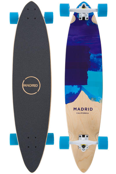 "Madrid Blunt 38"" (96,5cm) Komplett-Longboard (blues)"