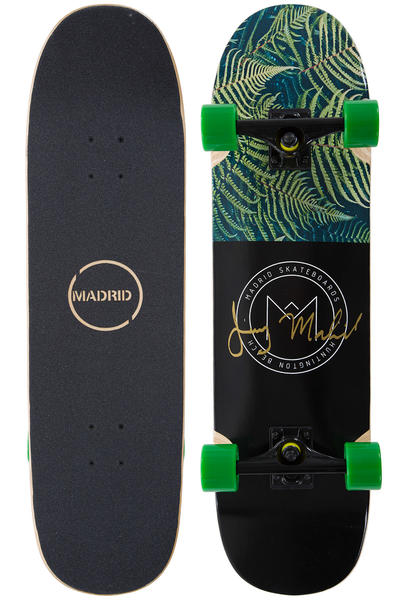 "Madrid Space Owl 32.5"" Komplett-Longboard (ferns)"