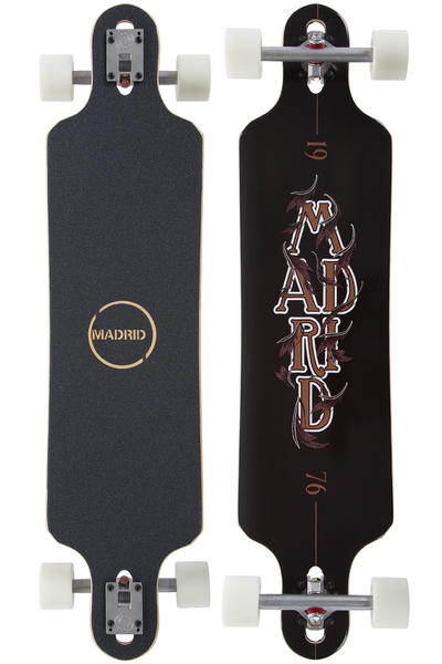 "Madrid Katar DT 39.5"" (100,3cm) Complete-Longboard (stacked)"