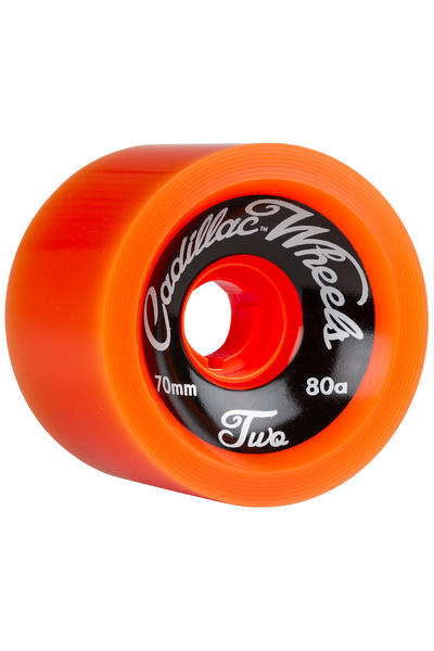 Cadillac Wheels Classic Two 70mm 80A Rollen (orange) 4er Pack