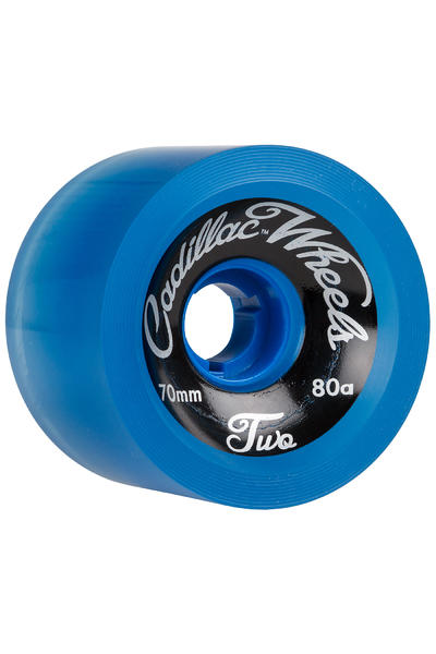 Cadillac Wheels Classic Two 70mm 80A Roue (blue) 4 Pack