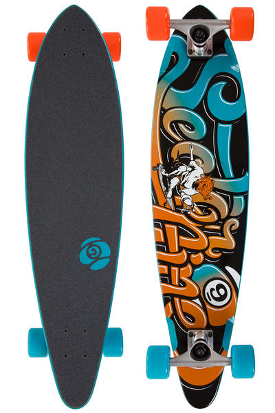 "Sector 9 Swift 34.5"" (87,6cm) Complete-Longboard (blue)"