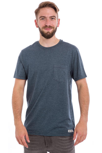 Element Basic CR Pocket T-Shirt (midnight blue heather)