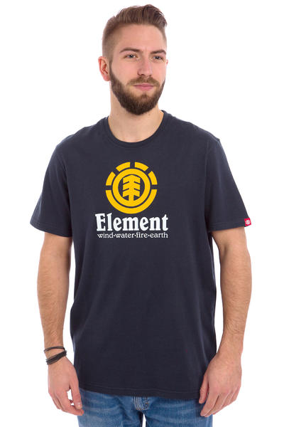Element Vertical T-Shirt (navy eclipse)