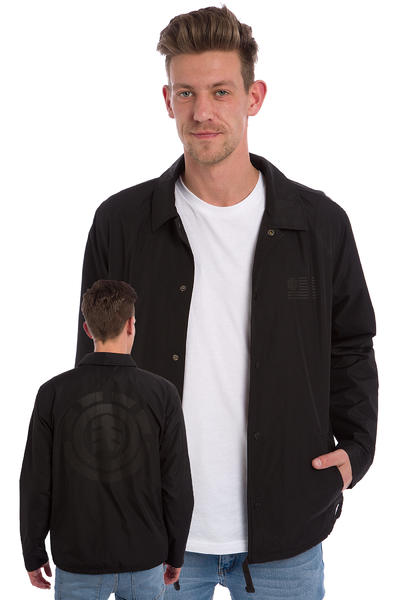 Element 92 Coach Jacket (black)