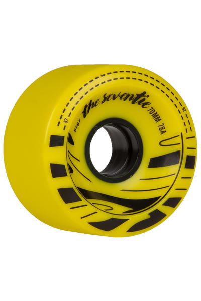 Ninetysixty Slide 70mm 78A Rollen (yellow) 4er Pack