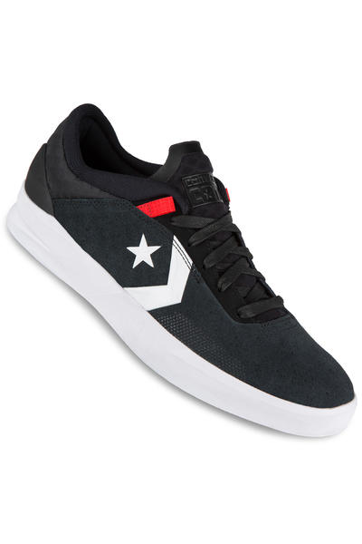 Converse CONS Metric CLS Schuh (black white red)