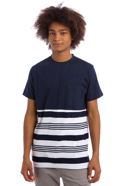 Wemoto Shorty T-Shirt (navyblue white)