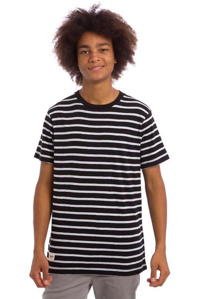 Wemoto Cope Stripe T-Shirt (white black)