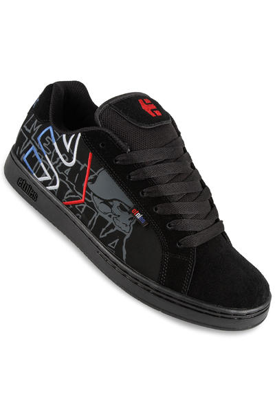 Etnies Metal Mulisha Fader Schuh (black blue white)