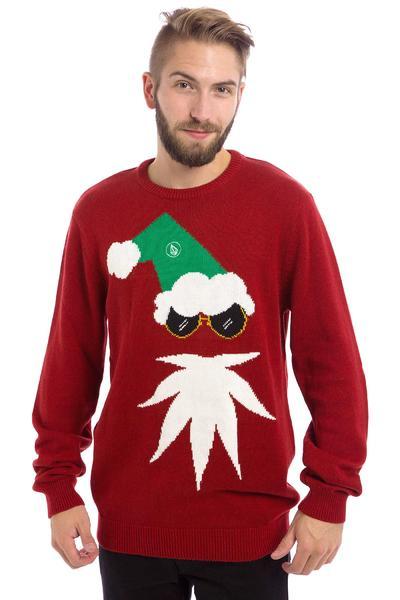 Volcom XMAS II Sweatshirt (deep red)