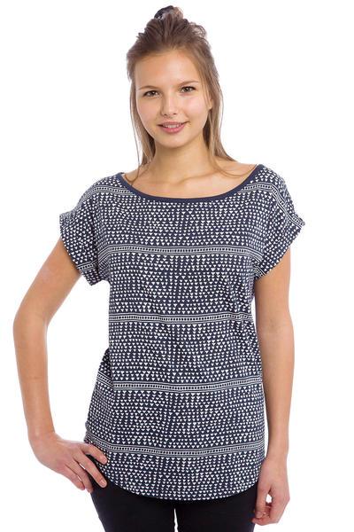 Wemoto Mary T-Shirt women (white navyblue)