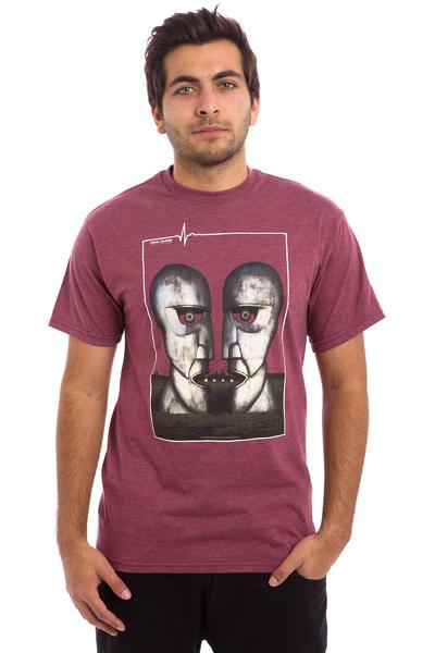 Habitat x Pink Floyd Division Bell T-Shirt (burgundy heather)