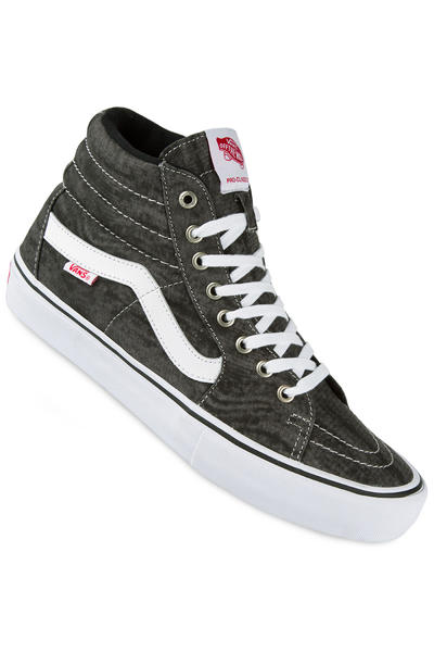 Vans Sk8-Hi Pro Schuh (distortion black white)