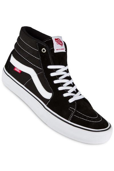 Vans Sk8-Hi Pro Shoe (black white)