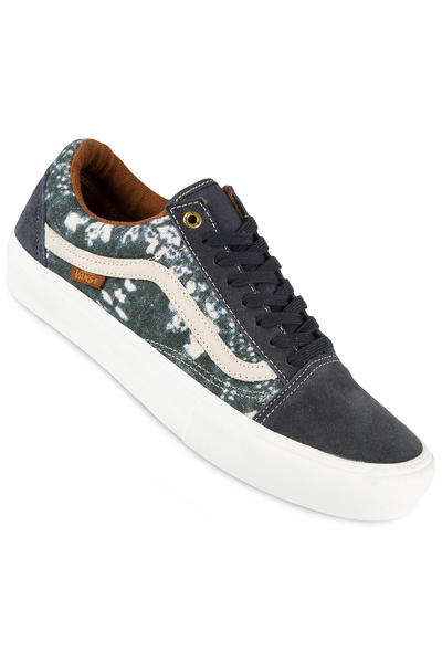 Vans Old Skool Pro Shoe (shibori indigo)
