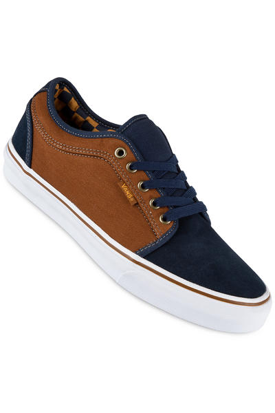 Vans Chukka Low Shoe (herringbone navy tobacco)