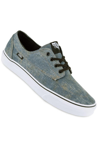 Vans Brigata Shoe (acid denim blue black)