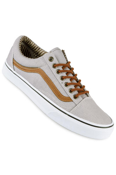 Vans Old Skool Schuh (silver sconce stripe denim)