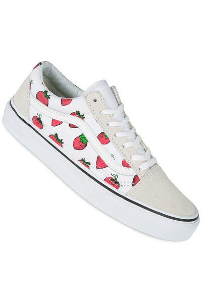 Vans Old Skool Schuh women (strawberries true white)