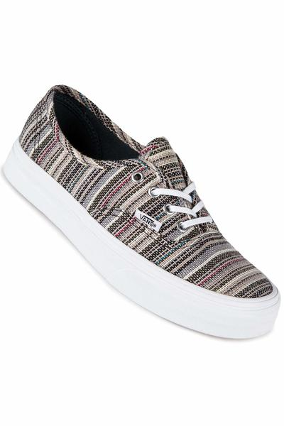 Vans Authentic Shoe women (textile stripe balsam true white)
