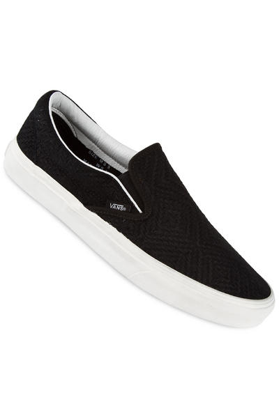 Vans Classic Slip-On Suede Schuh (braided black)