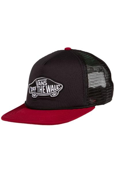 Vans Classic Patch Trucker Cap (black rhubarb)