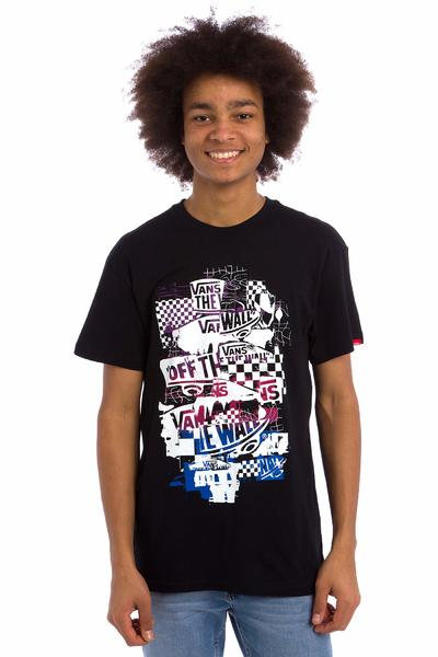 Vans OTW Checker Blaste T-Shirt (black purple)